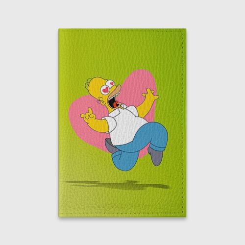 Обложка для паспорта матовая кожа  Фото 01, Гомер