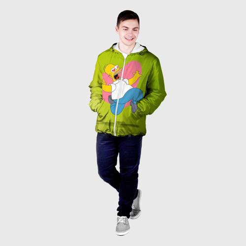 Мужская куртка 3D  Фото 03, Гомер