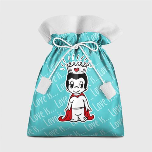 Подарочный 3D мешок Love is