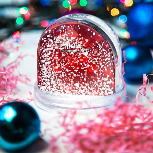 Водяной шар со снегом  Фото 04, Женя - ты моя судьба