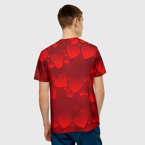 Мужская футболка 3D Настя - ты моя судьба