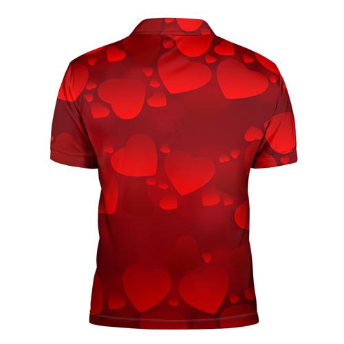Мужская рубашка поло 3D Наташа  - ты моя судьба Фото 01