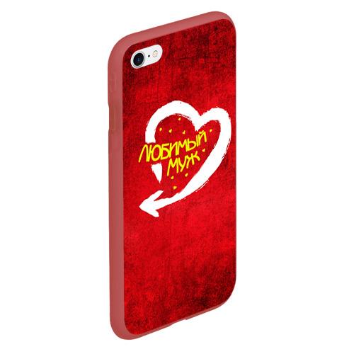 Чехол для iPhone 6Plus/6S Plus матовый Любимый муж Фото 01