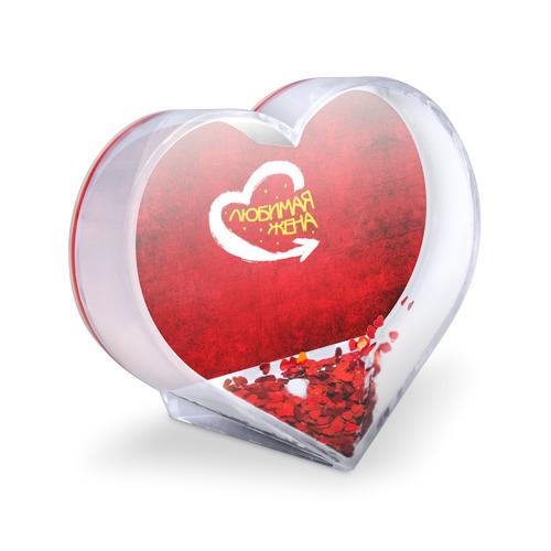 Сувенир Сердце  Фото 03, Любимая жена