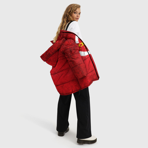 Женская зимняя куртка Oversize Любимая жена Фото 01