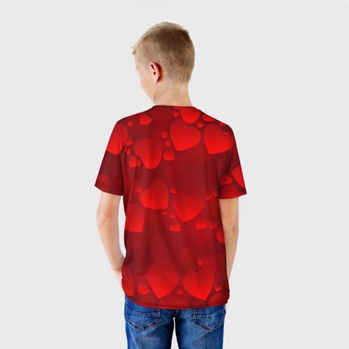 Детская футболка 3D Оля - ты моя судьба Фото 01