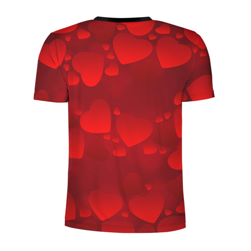 Мужская футболка 3D спортивная Оля - ты моя судьба Фото 01