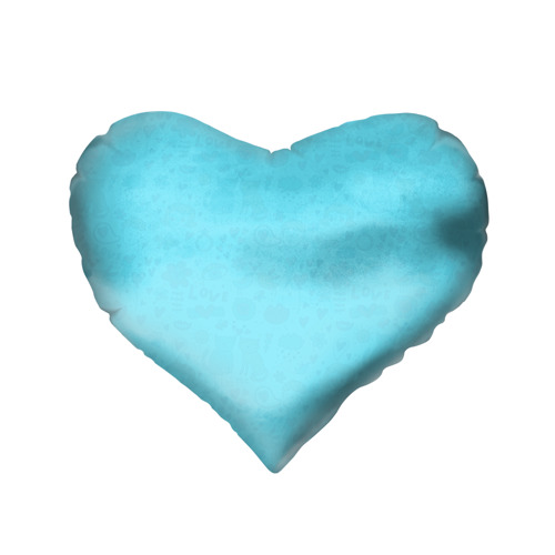 Подушка 3D сердце  Фото 02, Зай и зая