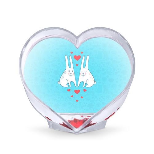 Сувенир Сердце  Фото 01, Зай и зая