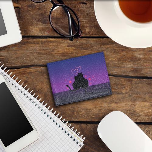 Обложка для студенческого билета Котик и киска Фото 01