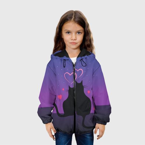 Детская куртка 3D Котик и киска Фото 01