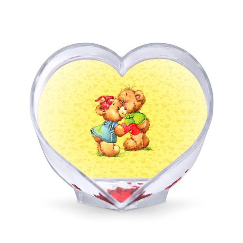 Сувенир Сердце  Фото 01, Влюбленные мишки