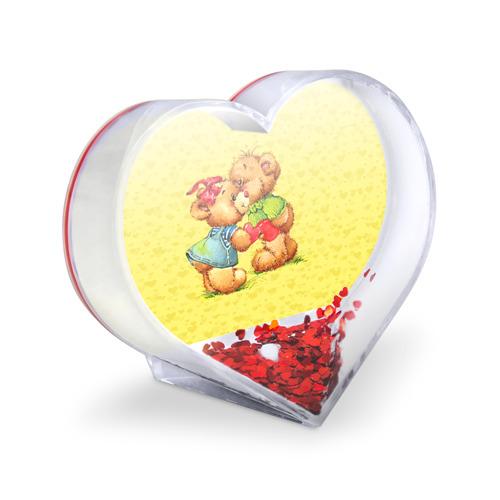 Сувенир Сердце  Фото 03, Влюбленные мишки