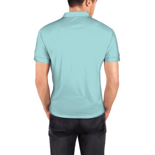 Мужская рубашка поло 3D  Фото 04, Котик