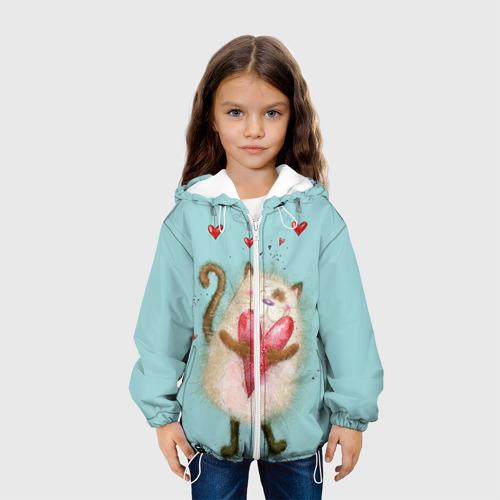Детская куртка 3D  Фото 04, Котик