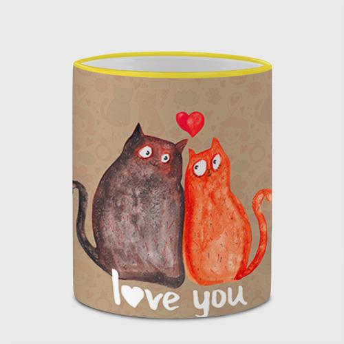 Кружка с полной запечаткой  Фото 03, Влюбленные котики