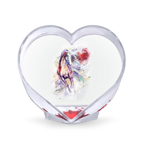 Сувенир Сердце  Фото 01, Лошадь. Арт 2