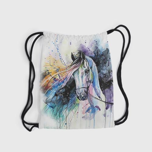 Рюкзак-мешок 3D Лошадь. Арт 3 Фото 01