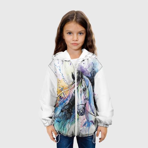 Детская куртка 3D Лошадь. Арт 3 Фото 01