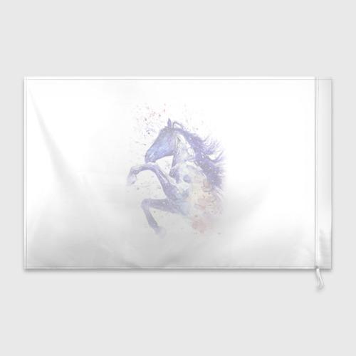 Флаг 3D  Фото 02, Лошадь. Арт 4