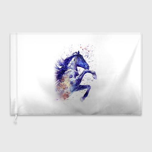 Флаг 3D  Фото 03, Лошадь. Арт 4
