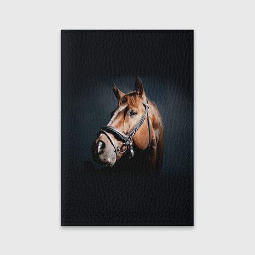 Обложка для паспорта матовая кожа  Фото 01, Лошадь 1