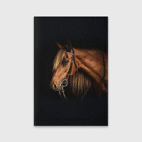 Обложка для паспорта матовая кожа  Фото 01, Лошадь 2