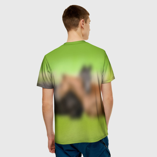Мужская футболка 3D  Фото 02, Лошади 2