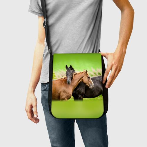 Сумка через плечо Лошади 2 Фото 01