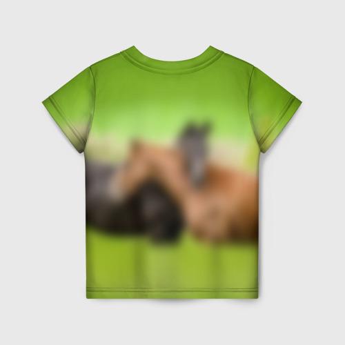 Детская футболка 3D Лошади 2 Фото 01