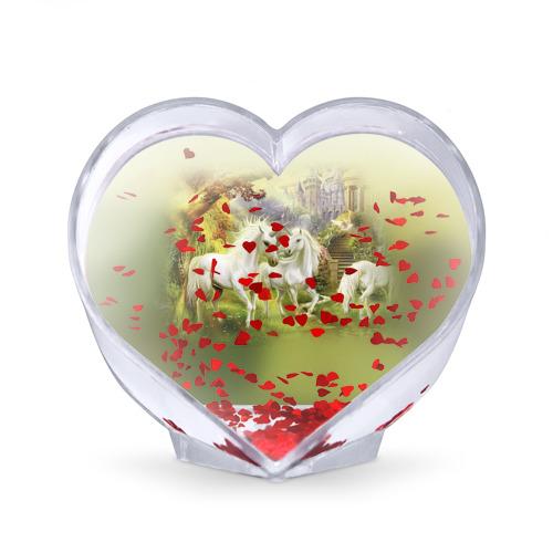 Сувенир Сердце  Фото 02, Единороги