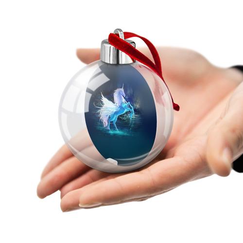 Ёлочный шар  Фото 02, Единорог