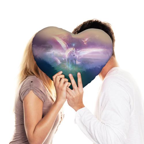 Подушка 3D сердце  Фото 03, Пегас