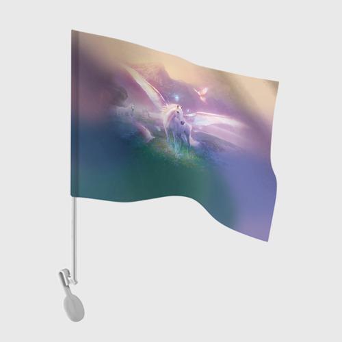 Флаг для автомобиля Пегас Фото 01