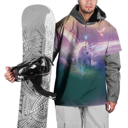 Накидка на куртку 3D Пегас Фото 01