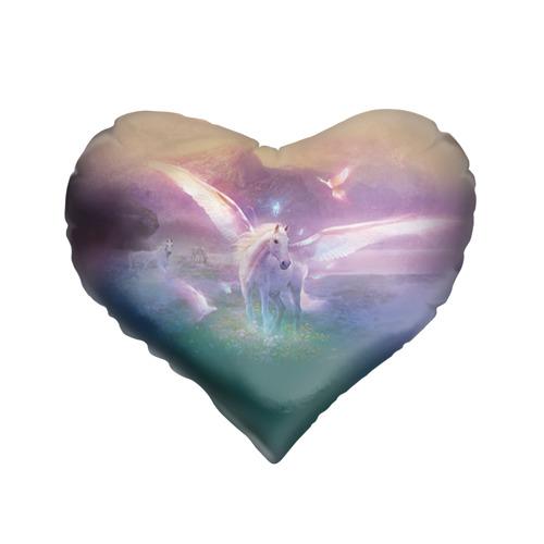 Подушка 3D сердце  Фото 01, Пегас