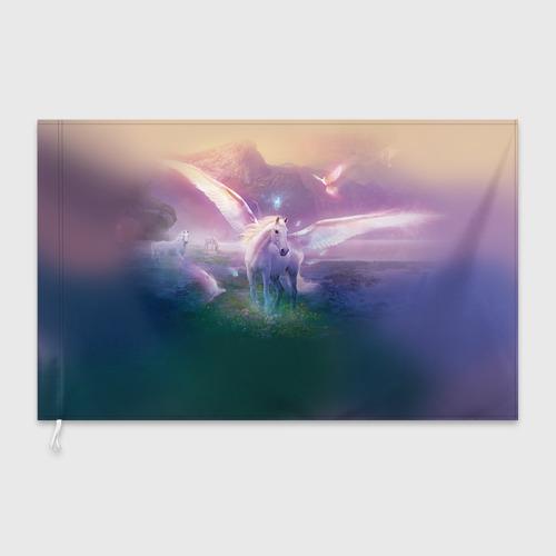 Флаг 3D Пегас Фото 01