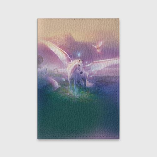 Обложка для паспорта матовая кожа  Фото 01, Пегас