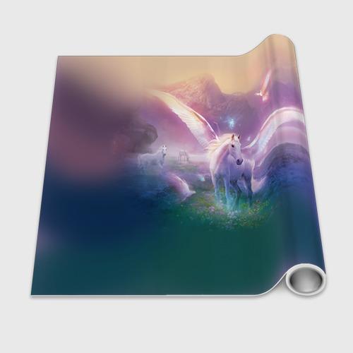 Бумага для упаковки 3D Пегас Фото 01