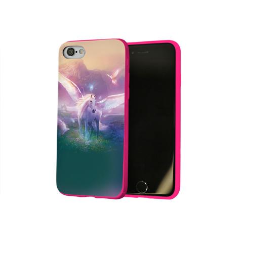 Чехол для Apple iPhone 8 силиконовый глянцевый Пегас Фото 01