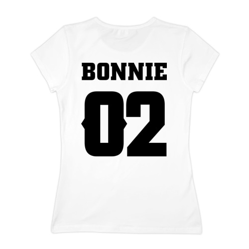 Женская футболка хлопок Bonnie