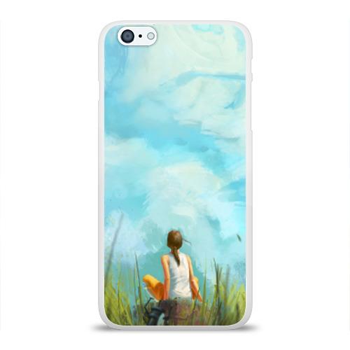 Чехол для Apple iPhone 6Plus/6SPlus силиконовый глянцевый  Фото 01, Portal 2