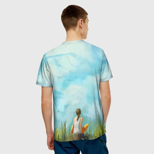 Мужская футболка 3D  Фото 02, Portal 2