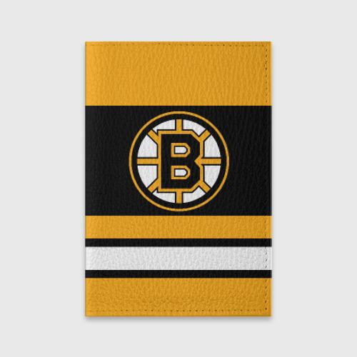 Обложка для паспорта матовая кожа  Фото 01, Boston Bruins