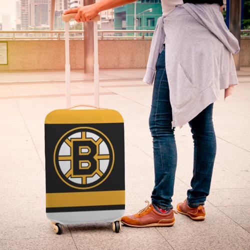 Чехол для чемодана 3D Boston Bruins Фото 01