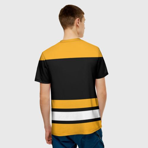 Мужская футболка 3D Boston Bruins