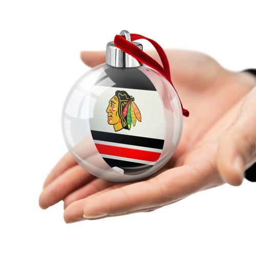 Ёлочный шар  Фото 02, Chicago Blackhawks