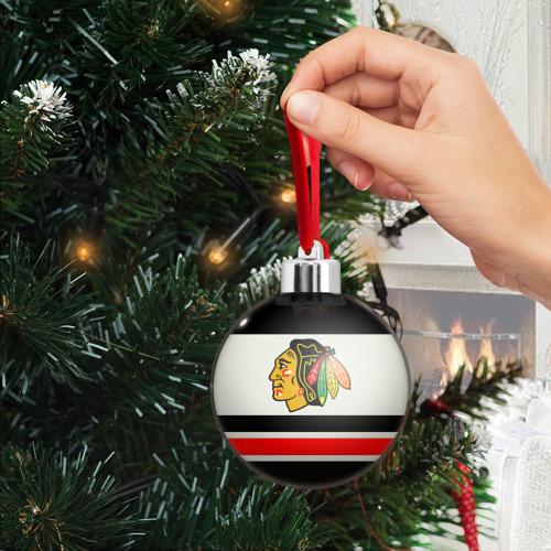 Ёлочный шар  Фото 03, Chicago Blackhawks