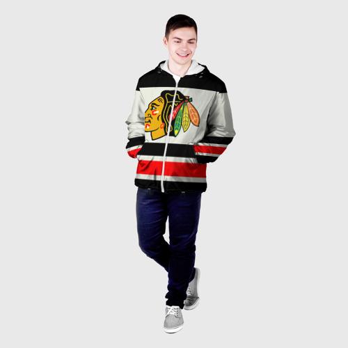 Мужская куртка 3D  Фото 03, Chicago Blackhawks