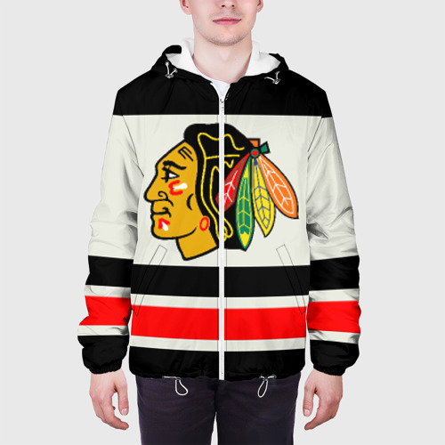 Мужская куртка 3D  Фото 04, Chicago Blackhawks